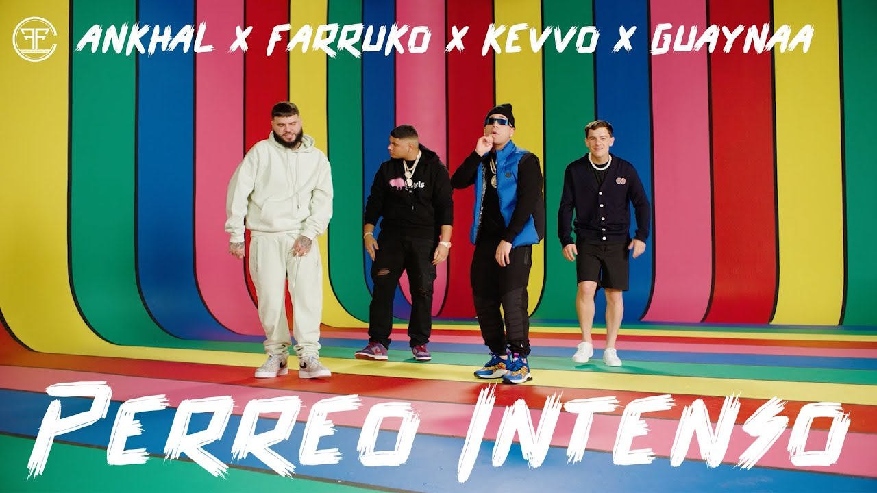 Farruko, Ankhal, Guaynaa & Kevvo - Perreo Intenso (Official Music Video)